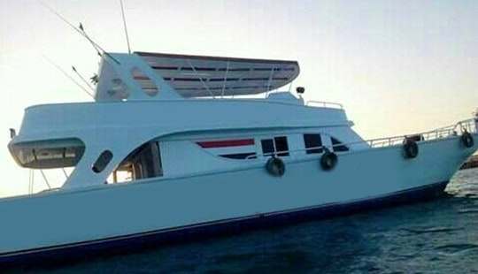 Enjoy Fishing In Red Sea Governorate, Egypt On Motor Yacht For Up To 8 Person