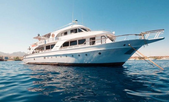 Charter 92' M.y. Juliet Power Mega Yacht In Qesm Sharm Ash Sheikh, Egypt