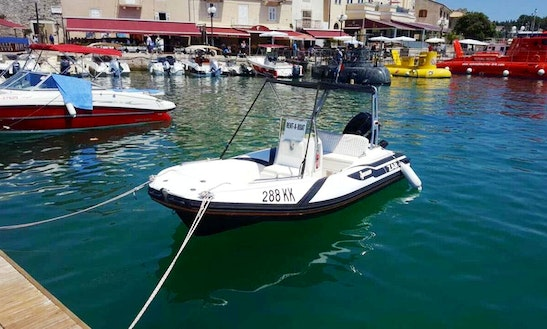 Rent 16' Zar Rigid Inflatable Boat In Krk, Croatia
