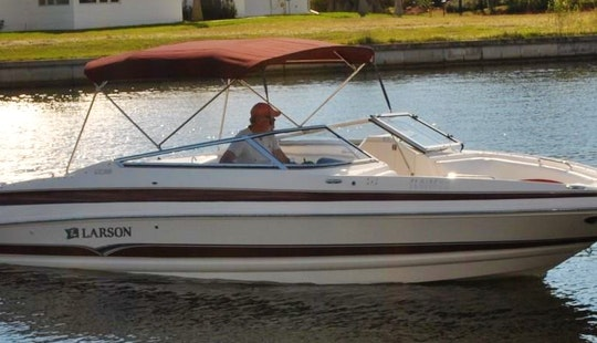 Enjoy The Larson 25 Ft Bowrider Rental In Cape Coral