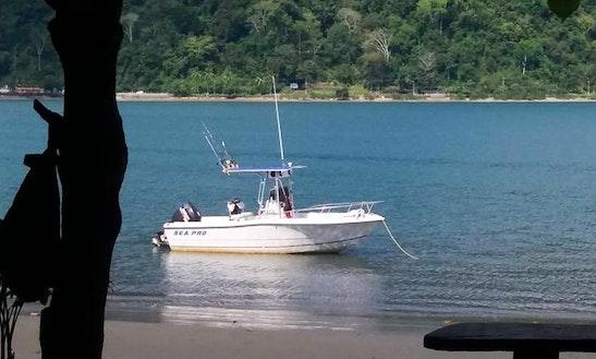 Enjoy Fishing In Zancudo, Costa Rica On Center Console