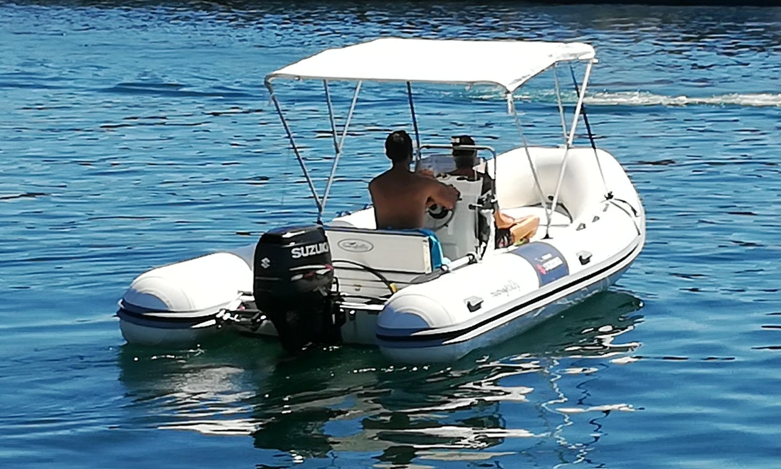 Charter a Rigid Inflatable Boat in Riposto, Italy