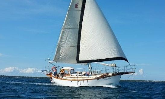 Classic Yacht At Zanzibar, Pemba, Tanzanias Coast