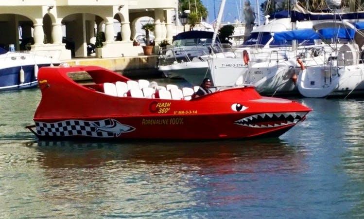 Gran Tiburón Jet Boat Trips in Torremolinos, Malaga