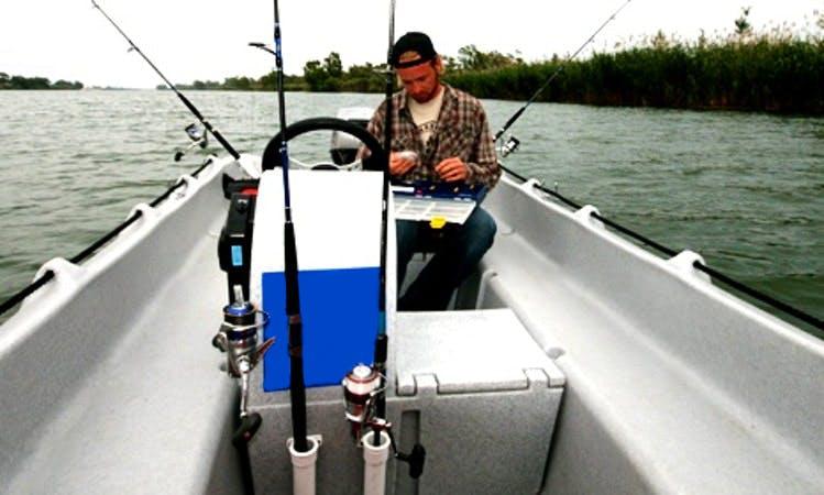 Unsinkable Fishing Boat In Deltebre