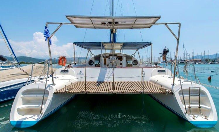 Catamaran Fountain Pajot 39, Lefkada, Greece