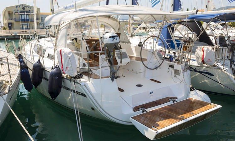 "Charter the 37ft ""Athena"" Bavaria Sailing Yacht in Lefkada, Greece"