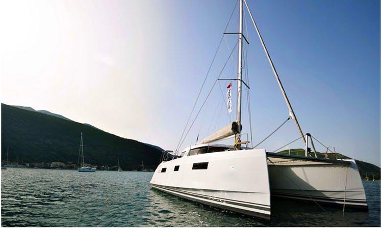 Nautitech Open 40 Catamaran In Lefkada