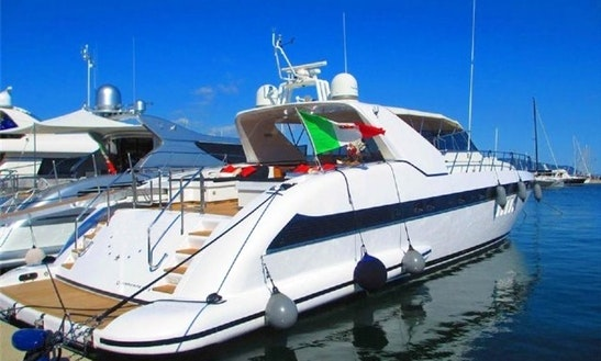 Handsome Motor Yacht Ready To Hire In La Spezia