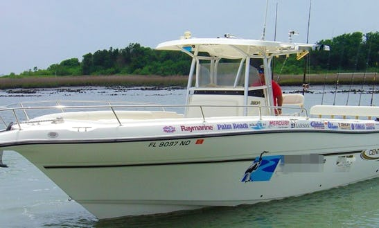 34ft Center Console Boat Fishing Charter In St. Augustine, Florida