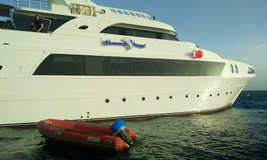Unforgettable Expedition Aboard 99' Power Mega Yacht In Red Sea Governorate