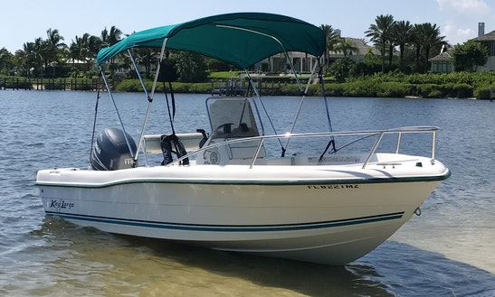 19 Keylargo Center Console