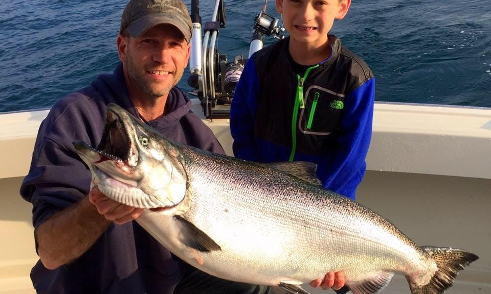 Sport Fishing Charter with Captain Bryan in Sheboygan, Wisconsin