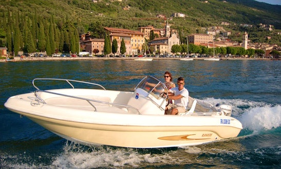 Exciting Motor Yacht Charter In Brenzone, Italy For Up To 7 Person