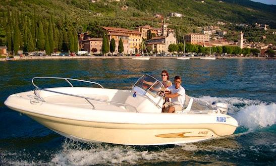 Motor Yacht Rental In Brenzone