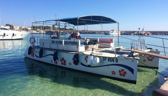 Explore San Vito Lo Capo, Sicily On 37' Power Catamaran