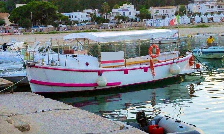 """Boat Tours and Private Charter """"Jasmine"""" in San Vito Lo Capo"""