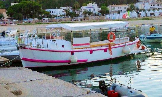 'jasmine' Boat Tours & Private Charter In San Vito Lo Capo