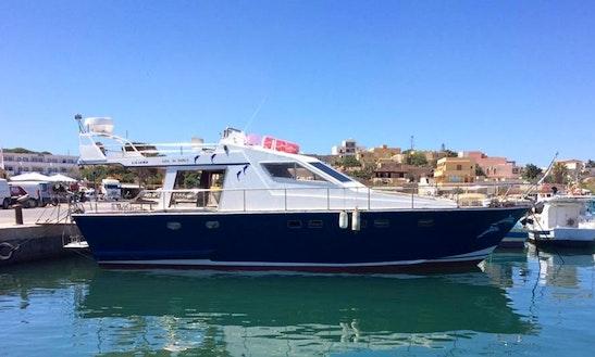 Charter Liliana Motor Yacht In Lampedusa, Italy