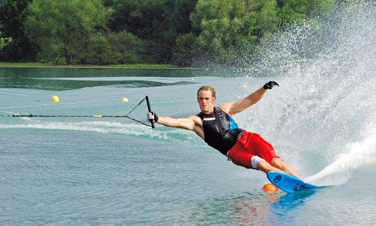 Enjoy Water Skiing In Tivat, Montenegro