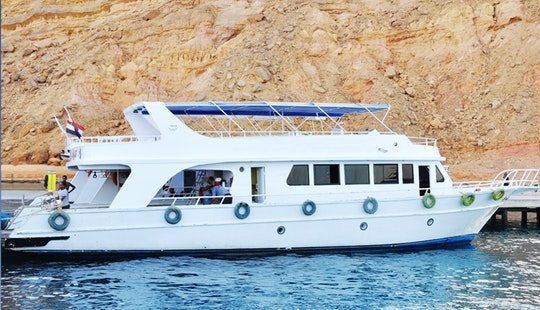 Charter 69' Balena Power Mega Yacht In Sharm El Sheikh, Egypt