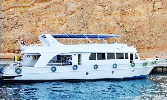 Charter 69' Balena Power Mega Yacht In South Sinai Governorate, Egypt