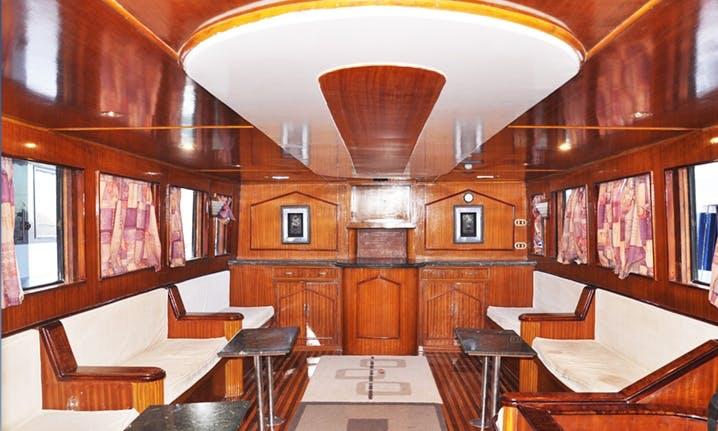 Charter 69' Balena Power Mega Yacht in Sharm El Sheikh, Egypt