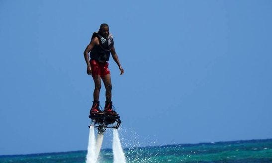 Enjoy Flyboarding In Mombasa, Kenya