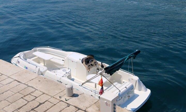Speed Sundeck Boat rental in Herceg - Novi