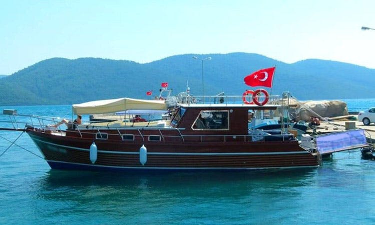 Have your Birthday or Just have a day cruise on this Motor Yacht in Muğla, Turkey