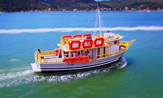 Charter Calypso I Motor Yacht In Pôrto Belo, Brazil