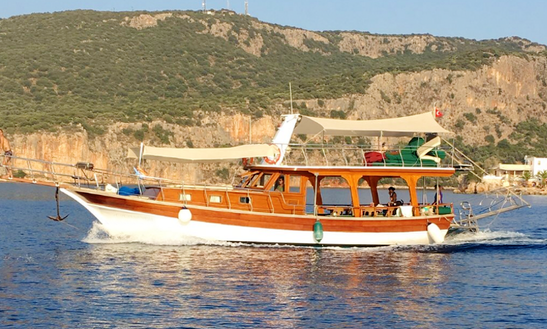 Charter A Motor Yacht In Kas, Turkey
