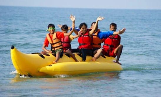Enjoy Banana Boat Rides In Panaji, Goa