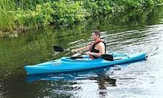 8' Sun Dolphin Aruba Kayak Rental In Hector, New York