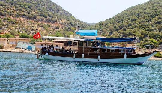 (18 Pax) Ece Boat Tour Rental In Turkey