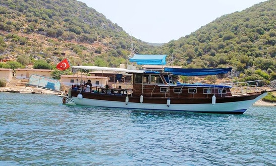 (18 Pax) Ece Boat Tour Rental In Turkey