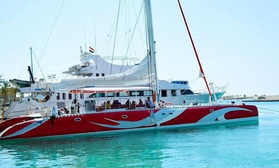 Charter Ocean Diva Cruising Catamaran In Red Sea Governorate, Egypt
