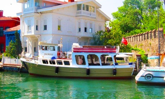 Charter Blue Fish 1 Canal Boat In Istanbul, Turkey