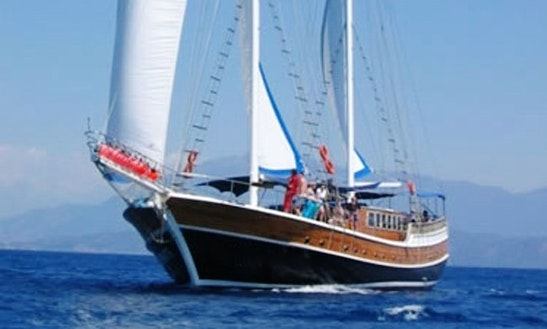 'mr. Temohte' Gulet Day Charter In Istanbul