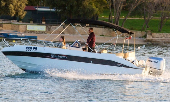 Marinello 22 Eden Open Powerboat For Rent In Vrsar, Croatia