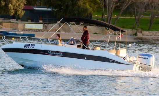 Marinello 22 Eden Open Powerboat For Rent In Vrsar, Croatia