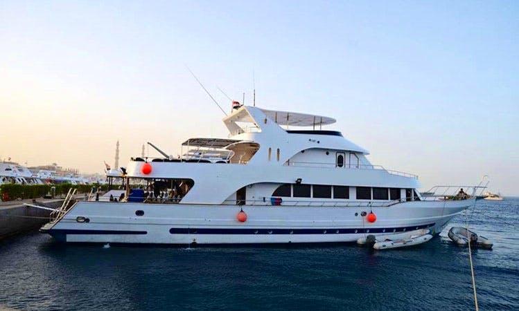 Gorgeous Power Mega Yacht in Sharm El-Sheikh