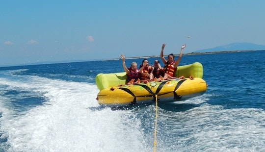 Group Tubing Fun In Arenacamp Stupice Premantura, Medulin