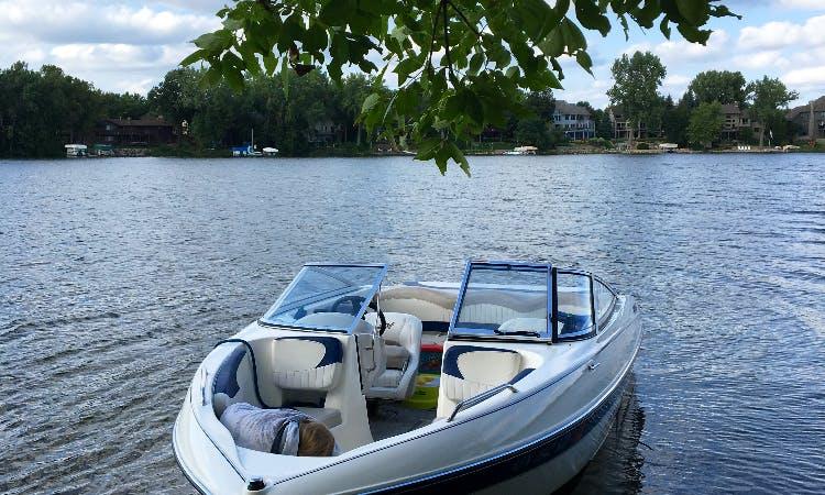 Passenger Boat rental with Captain on Medicine Lake