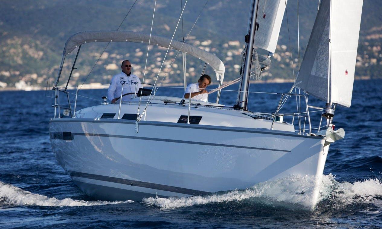 Cruising Monohull rental in Balatonfenyves