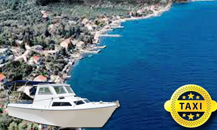 Enjoy Water Taxi Service From Korčula to Kneza