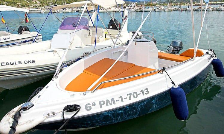 Shiren 13 Sport Boat Rental in Port d'Andratx, Spain