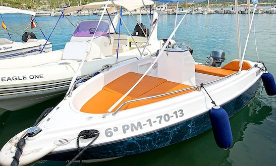 Shiren 13 Sport Boat Rental In Port D'andratx, Spain