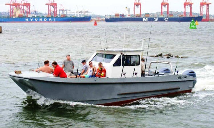 29ft Center Console Rental for Up to 8 People in Durban, South Africa