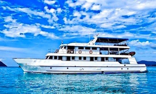 Charter 94' Deep Andaman Queen Power Mega Yacht In Muang Pattaya, Chonburi